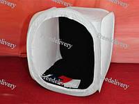 Лайткуб 40см, бестеневая палатка софтбокс лайт-куб, фото 1