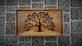 Маленький чайный стол Lignum Vitae (Mini) Чабань для церемонии 38*22 см
