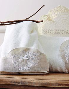 Набор полотенец махровых Karaca Home Clara 50*90+85*150 см.