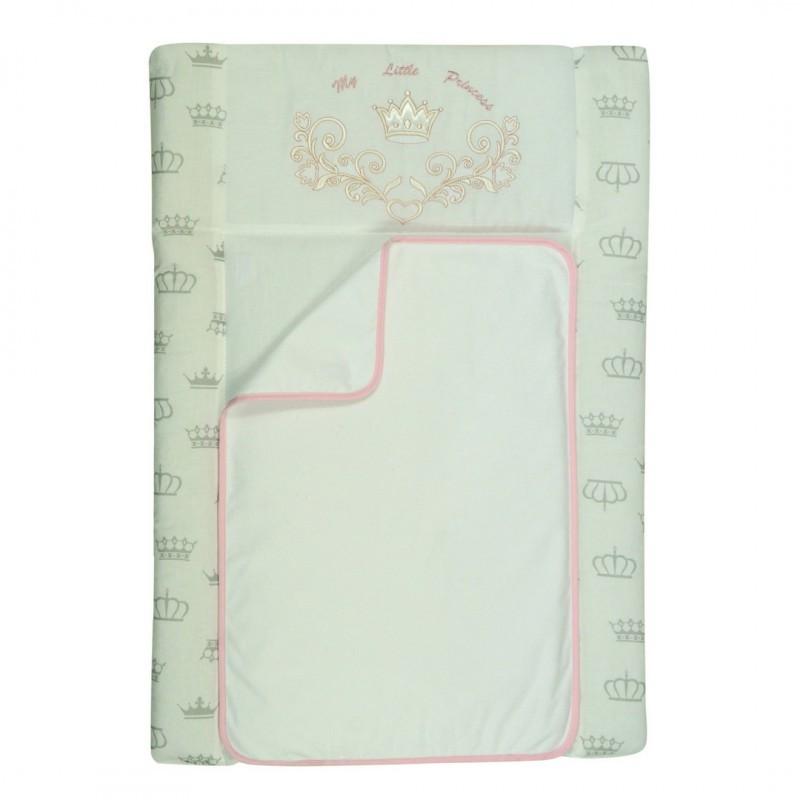 Пеленальный матрас для новорожденных тканевый Veres Princess 50х70