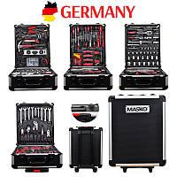 Набор инструментов универсальный 186 предметов Германия сталь и хром. Набір інструментів. Головки торцевые