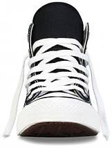 Кеды Converse All Star высокие Replica (реплика) черные New Styles, фото 3