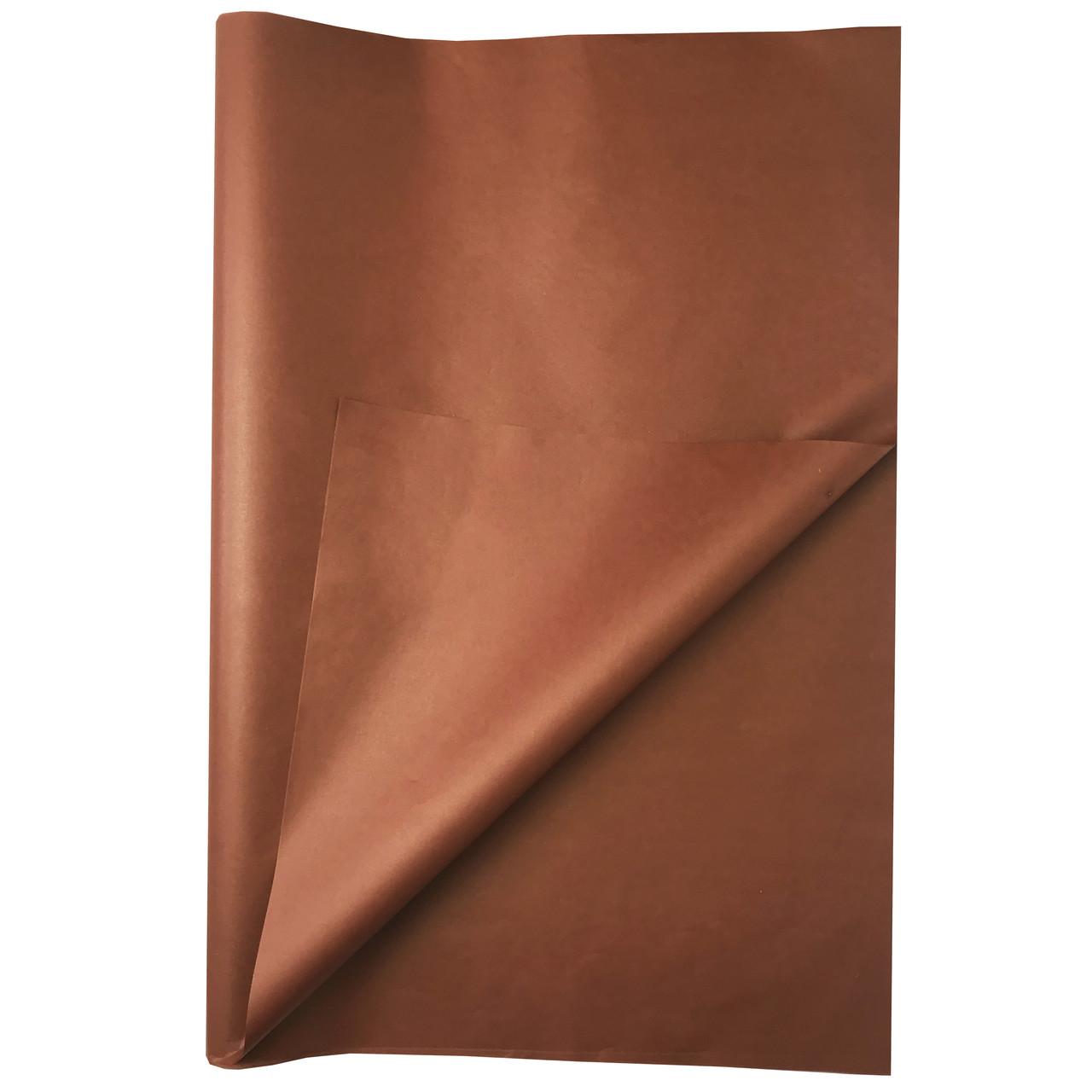 Папір тишею коричнева 100 аркушів