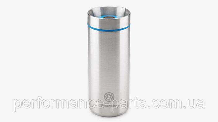 Термокружка Volkswagen Thermo Mug, Silver/Blue 33d069604