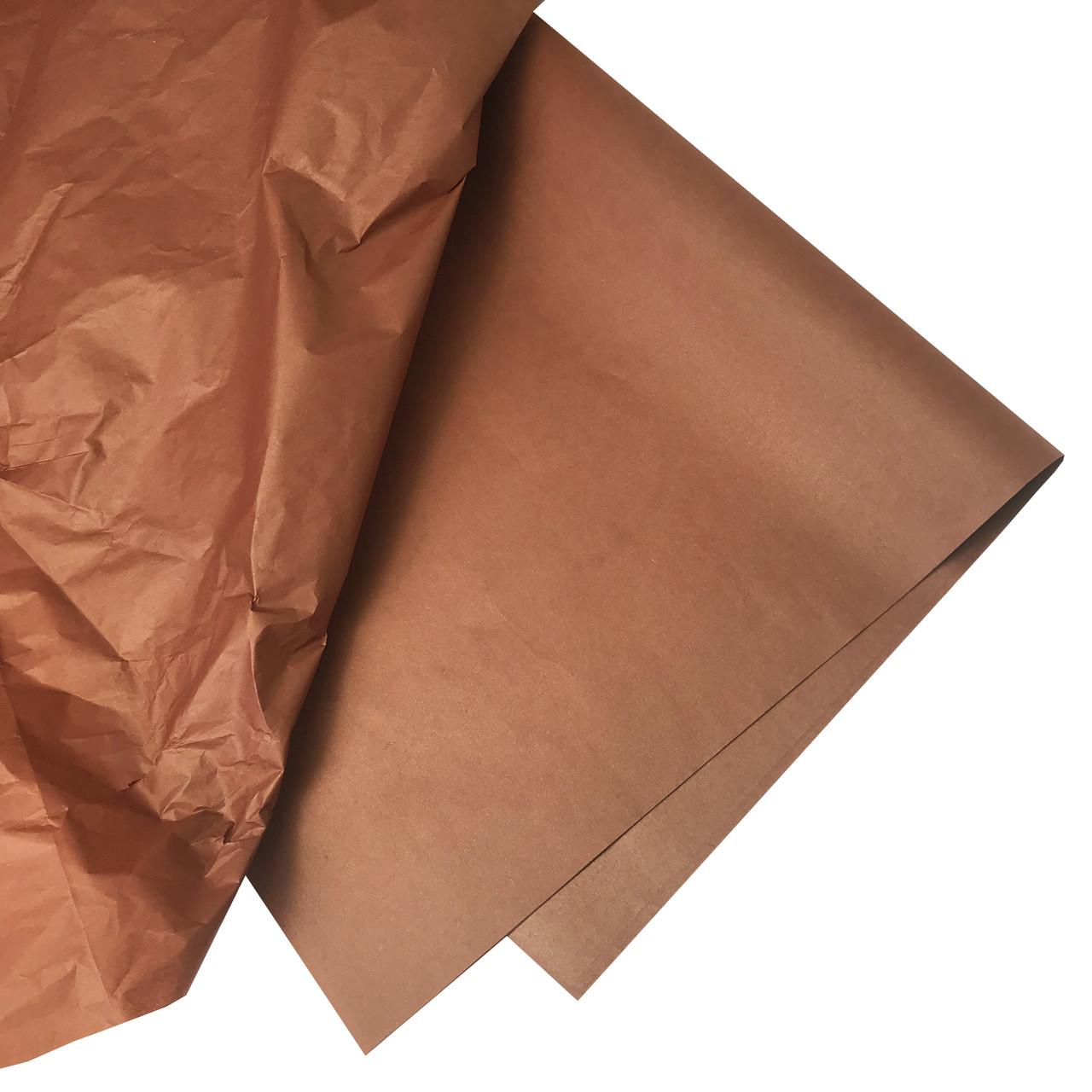 Бумага тишью коричневая 10 листов 50 х 70 см