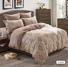 Комплект постельного белья Полуторный 160Х220 Сатин Хлопок 100% TL171805, фото 3