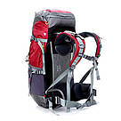 Туристический рюкзак, походный 45-50 л New Outlander 45 +5L,красный(AV 2188), фото 3