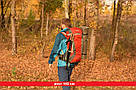 Туристический рюкзак, походный 45-50 л New Outlander 45 +5L,красный(AV 2188), фото 4