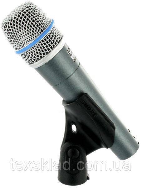 Микрофон инструментальный проводной Shure Beta 57A реплика