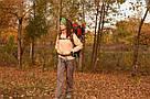 Туристический рюкзак, походный 45-50 л New Outlander 45 +5L,красный(AV 2188), фото 7