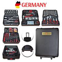 Набор инструментов с трещеткой Германия сталь и хром. Набір інструментів. Головки торцевые