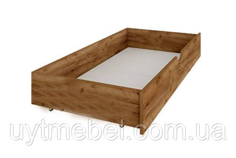 Шухляда для ліжка Мілана дуб крафт білий/сірий (Сокме)
