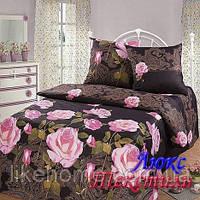 Комплект постельного белья Top Dreams Cotton Ночная роза семейный