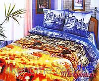 Постельное белье Top Dreams Cotton Ночной город евро