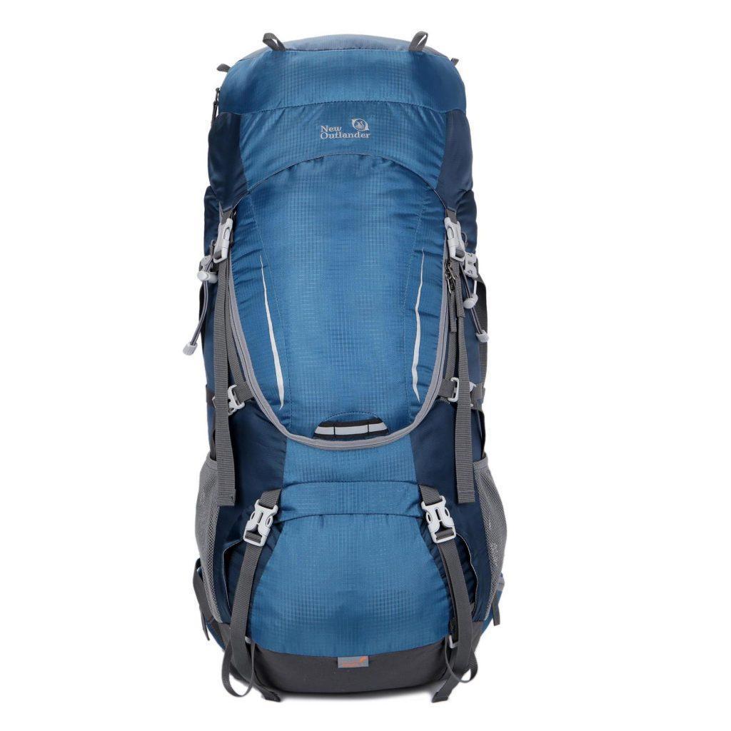 Рюкзак туристический, походный на 60-65 л New Outlander синий (AV 1001)