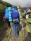 Рюкзак туристический, походный на 60-65 л New Outlander синий (AV 1001), фото 5