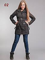 Женские куртки демисезонные черные, фото 1