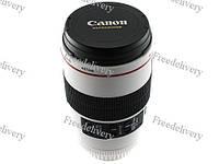 Чашка термос объектив Canon EF 100mm бел, кружка, фото 1