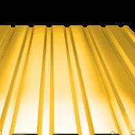 Профнастил  ПС(К)-20 полиэстер (глянец)  0,40мм