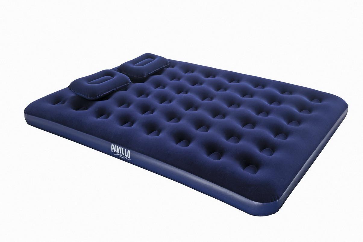 Матрас с насосом и подушками надувной Bestway 67374