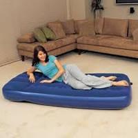 Матрас надувной одноместный Flocked Air Bed Bestway 67001