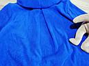 Теплый ярко синий микрофлисовый худи на девочку Old Navy (США) , фото 2