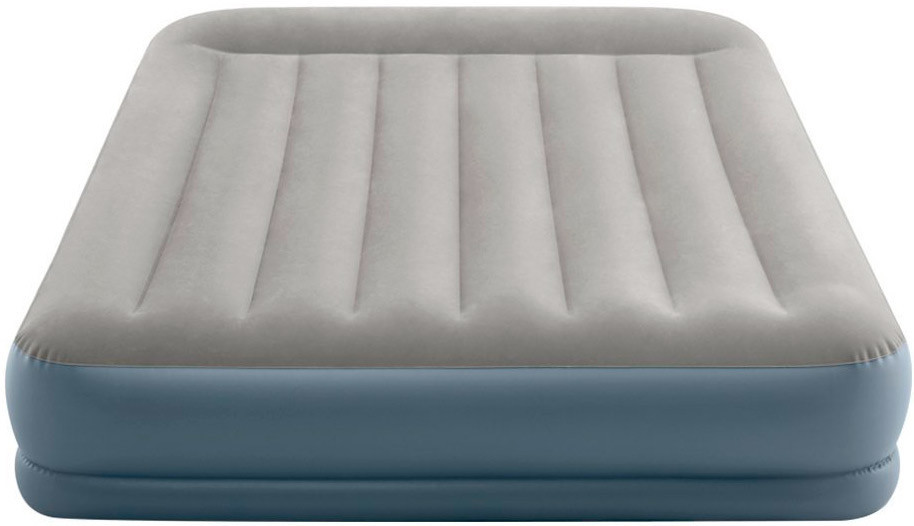 Надувная Кровать Intex 64118 Mid-Rice Airbed + Встроенный Насос 220v