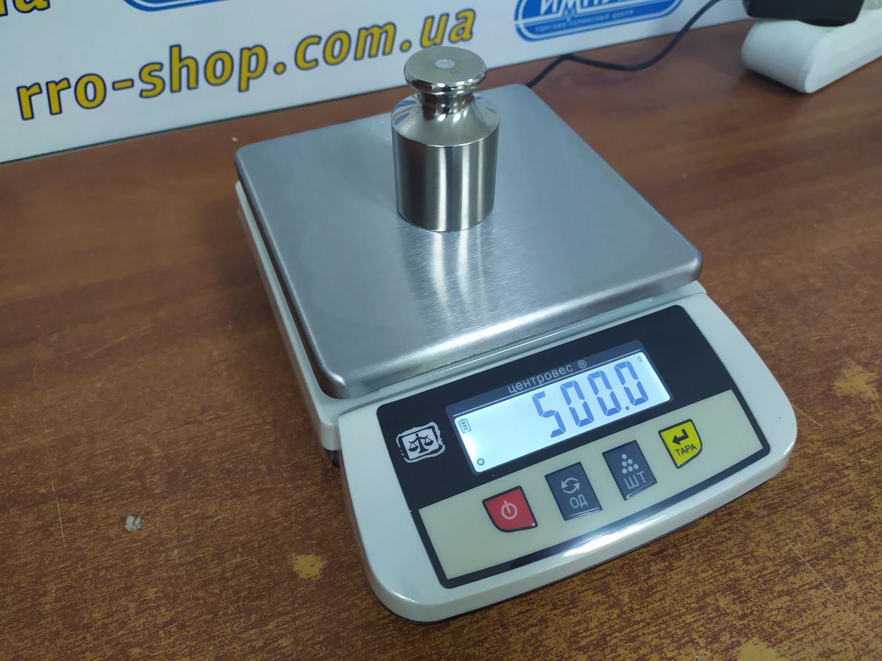 Весы фасовочные ВТЕ-Центровес 3,2Т3Б1 (3,2 кг, 6,2 кг)