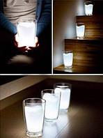Стакан-лампа Milk Glass LED Night Light Lamp
