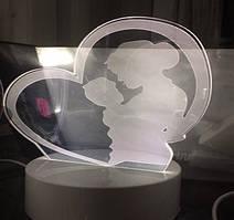 3D ночник со светодиодной панелью