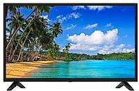 "Телевизор смарт ТВ бренда COMER 40"" Smart + T2 E40DU1100 Андроид 7.1"