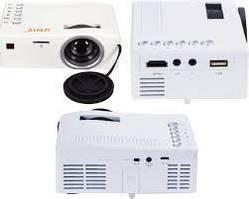 Компактный мини проектор UNIC UC18 с поддержкой HD проектор для презентаций