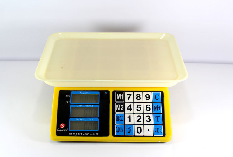 Весы настольные электронные ACS 40kg/5g MS 266 Domotec 4V