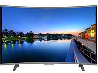 Smart телевизор LED JPE 39' HD, T2, USB, HDMI с изогнутым экраном, фото 1