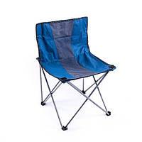 Кресло туристическое складное ВС016-5L со спинкой без подлокотников 50х41х43/74см
