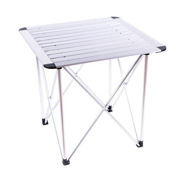 Складной стол Sanja SJ-C02-1 для дачи кемпинговый стол раскладной 70*70*70 см алюминий