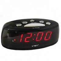 Светодиодные часы-будильник VST 773-1 компактные электронные многофункциональные