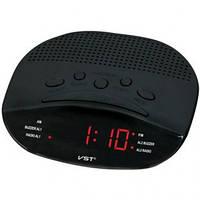 Электронные настольные Лед Часы-радио VST 908-1 красный дисплей