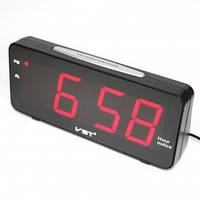 Светодиодные часы VST 763T-1 электронные настольные