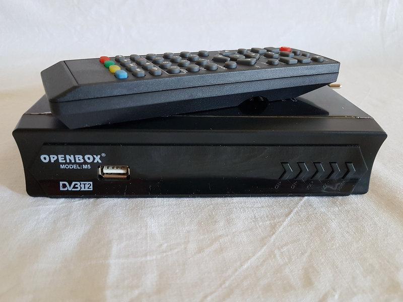 Автономный TV-тюнер Т2 Openbox М5, телевизионный ресивер Опенбокс, цифровая тв приставка