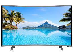 """LCD LED Телевизор Comer 32"""" E32DU1000 Изогнутый экран Smart TV многофункциональный"""