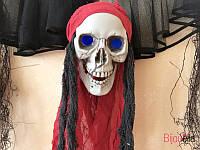 """Декор на Хэллоуин подвесной череп украшение дома, вечеринки """"подвесной череп с внутренним светом"""""""