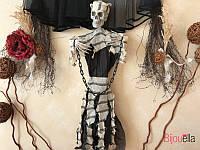 Для вечеринки подвесной заключённый на хэллоуин страшный декор аксессуар