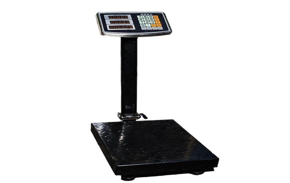 Весы электронные торговые до 200 кг с усиленной платформой 30*40 весы большие промышленные