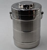 Металлический термос ланч-бокс Benson BN-649 (1,8 л) переносной бокс для еды