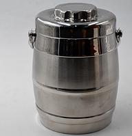 Ланч-бокс Benson BN-650 (2 л) металлический термос для еды переносной с ручкой