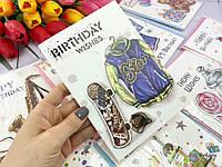 """Для мальчика открытка на День Рождения """"BIRTHDAY#5"""" скейт"""
