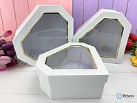 Подарочные коробки для цветов в форме бриллианта рубина RUBY для девушки подарок на 8 марта цветочная коробка