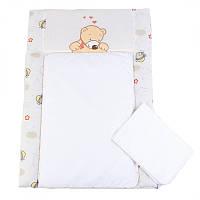 Пеленальный матрас для новорожденных тканевый Veres My Honey