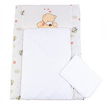 Пеленальный матрас для новорожденных тканевый Veres My Honey 50х70